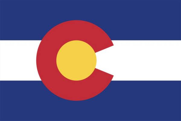 Sola Colorado State Flag Beach Towel product image
