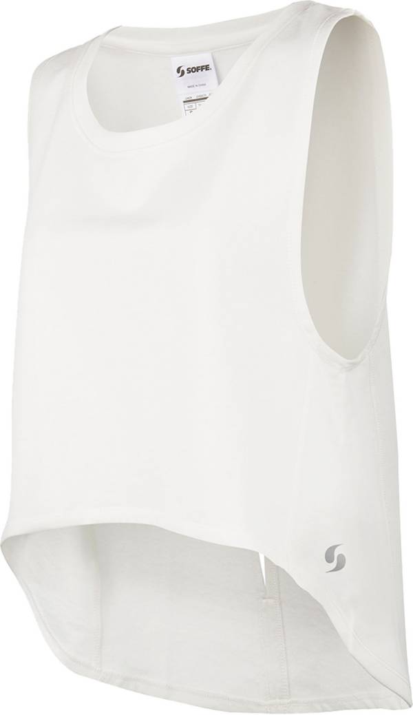 Soffe Women's Vented Back Retro Tank Top product image