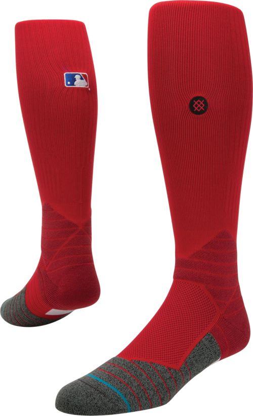 9f63558b4 Stance MLB Diamond Pro On-Field Red Tube Sock. noImageFound. 1