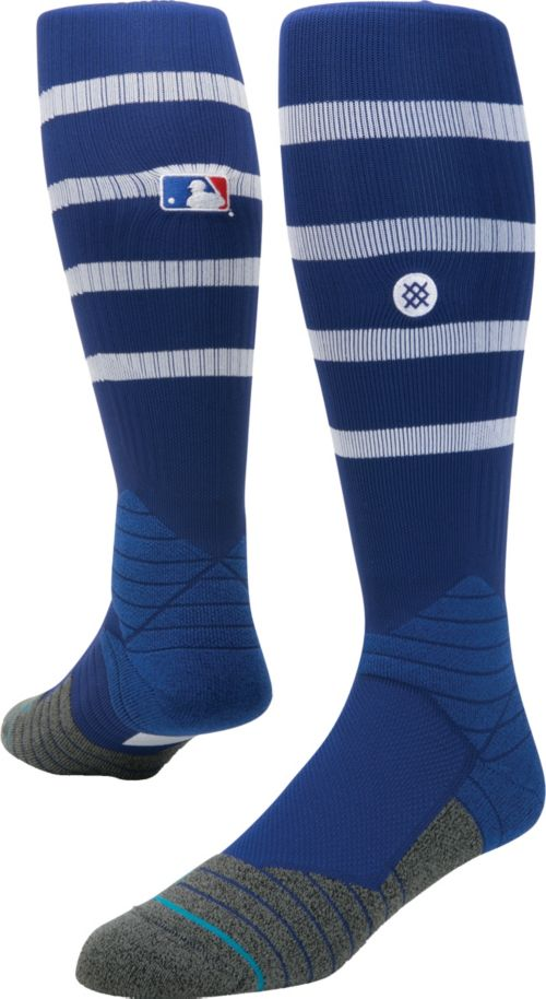 2622c83c7 Stance MLB Diamond Pro On-Field Striped Royal Tube Sock. noImageFound. 1