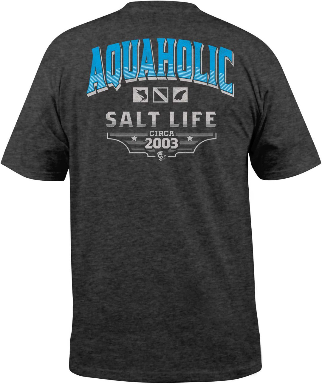 5e49f05d7d85 Salt Life Men's Aquaholic Icons T-Shirt | DICK'S Sporting Goods