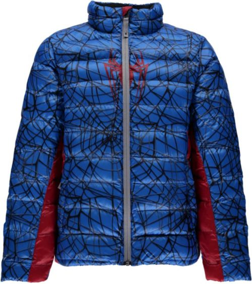 c9b232a98 Spyder Boys  Marvel Prymo Insulated Jacket