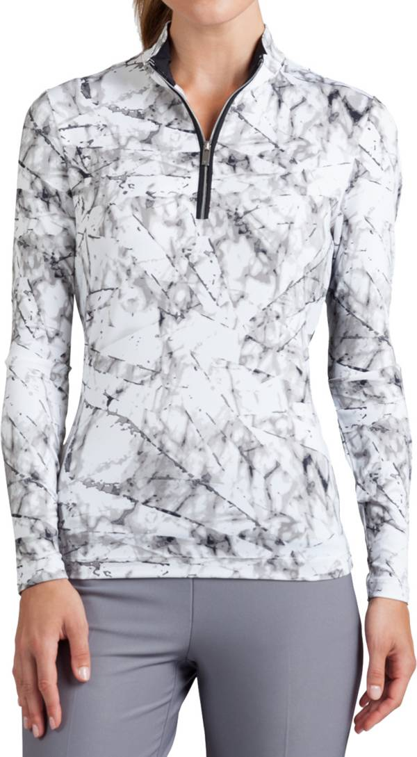 Tail Women's Printed 1/4-Zip Top product image