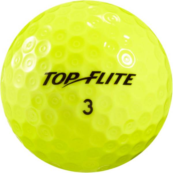 Top Flite D2+ Feel Yellow Golf Balls – 15 Pack product image