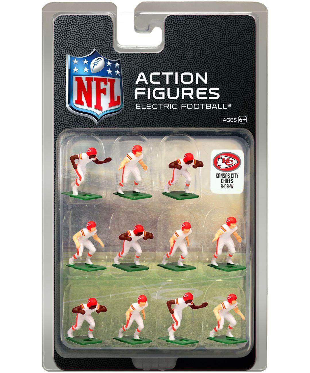 new concept 2f949 99b25 Tudor Games Kansas City Chiefs White Uniform NFL Action Figure Set