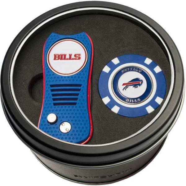 Team Golf Buffalo Bills Switchfix Divot Tool and Poker Chip Ball Marker Set product image