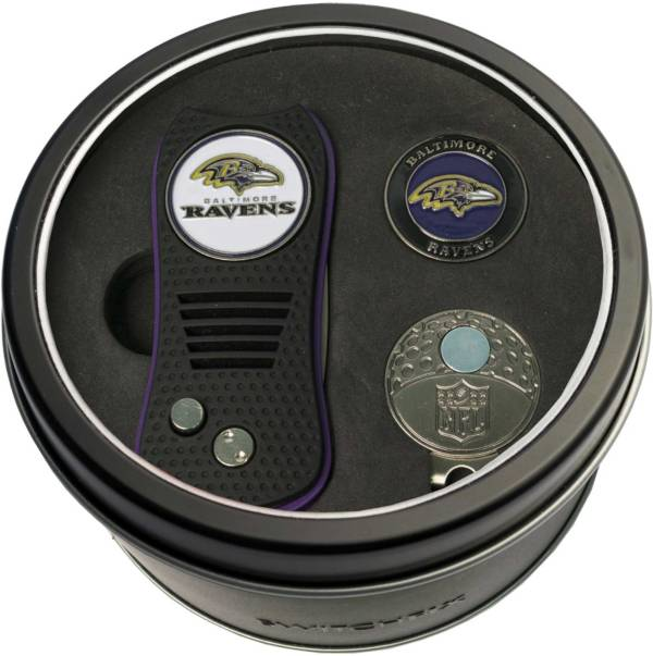 Team Golf Baltimore Ravens Switchfix Divot Tool and Cap Clip Set product image
