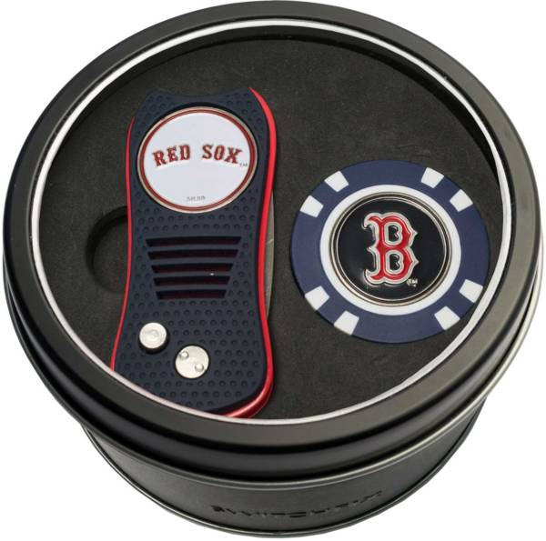 Team Golf Boston Red Sox Switchfix Divot Tool and Poker Chip Ball Marker Set product image
