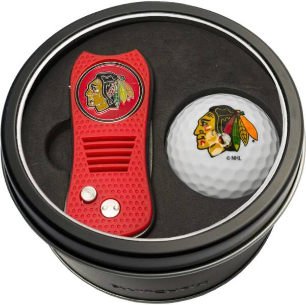 Team Golf Chicago Blackhawks Switchfix Divot Tool and Golf Ball Set product image