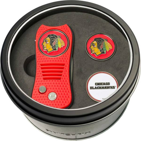 Team Golf Chicago Blackhawks Switchfix Divot Tool and Ball Markers Set product image