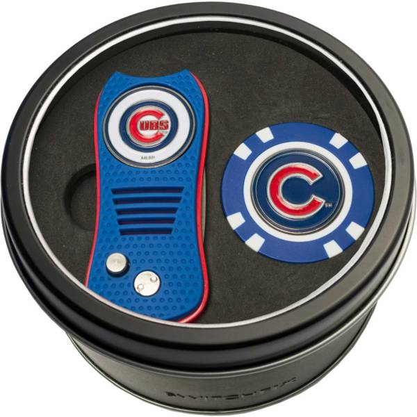 Team Golf Chicago Cubs Switchfix Divot Tool and Poker Chip Ball Marker Set product image