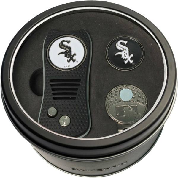 Team Golf Chicago White Sox Switchfix Divot Tool and Cap Clip Set product image
