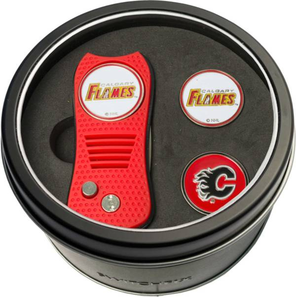 Team Golf Calgary Flames Switchfix Divot Tool and Ball Markers Set product image