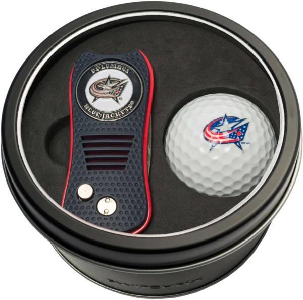 Team Golf Columbus Blue Jackets Switchfix Divot Tool and Golf Ball Set product image