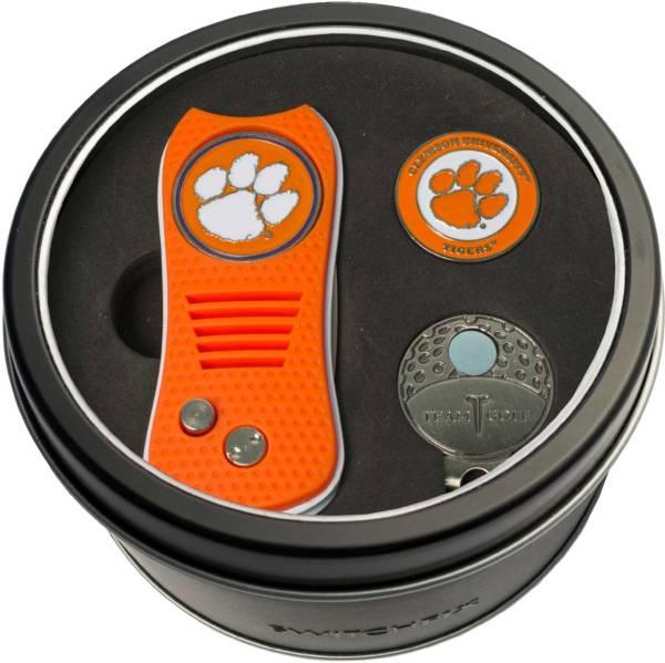 Team Golf Clemson Tigers Switchfix Divot Tool and Cap Clip Set product image
