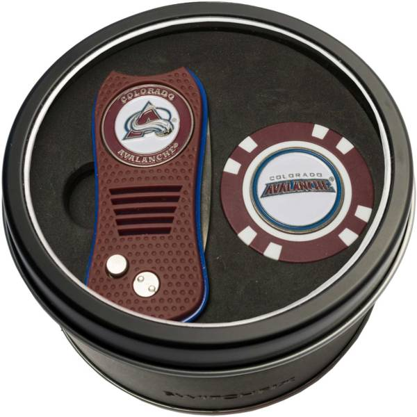 Team Golf Colorado Avalanche Switchfix Divot Tool and Poker Chip Ball Marker Set product image