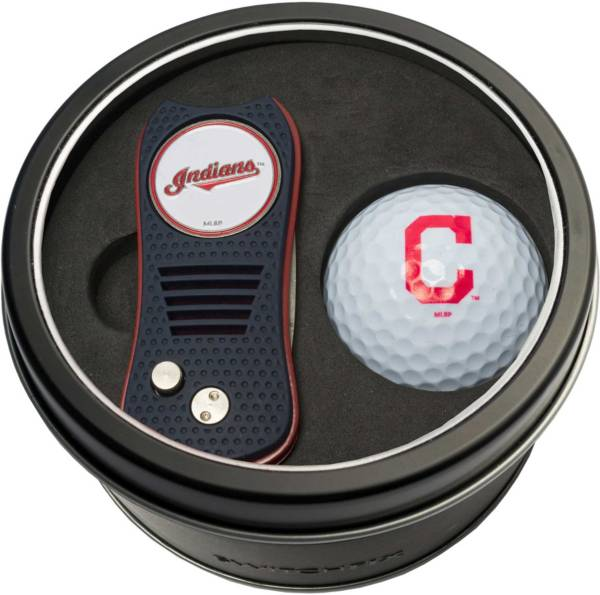 Team Golf Cleveland Indians Switchfix Divot Tool and Golf Ball Set product image