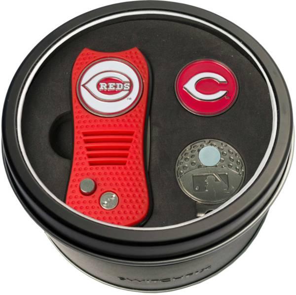 Team Golf Cincinnati Reds Switchfix Divot Tool and Cap Clip Set product image