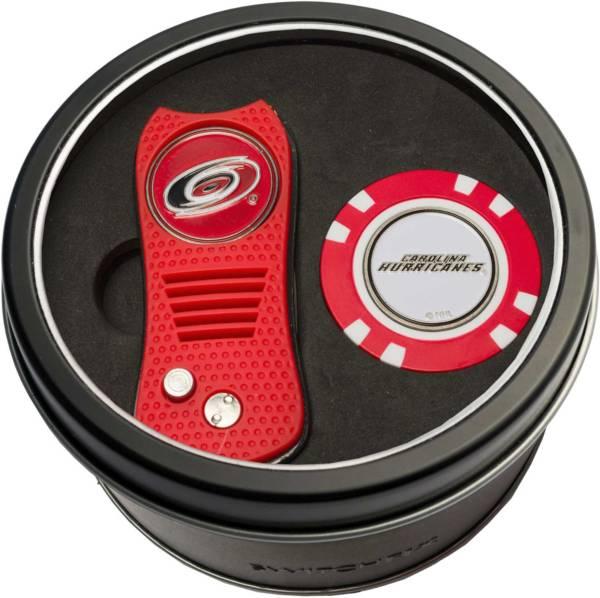 Team Golf Carolina Hurricanes Switchfix Divot Tool and Poker Chip Ball Marker Set product image