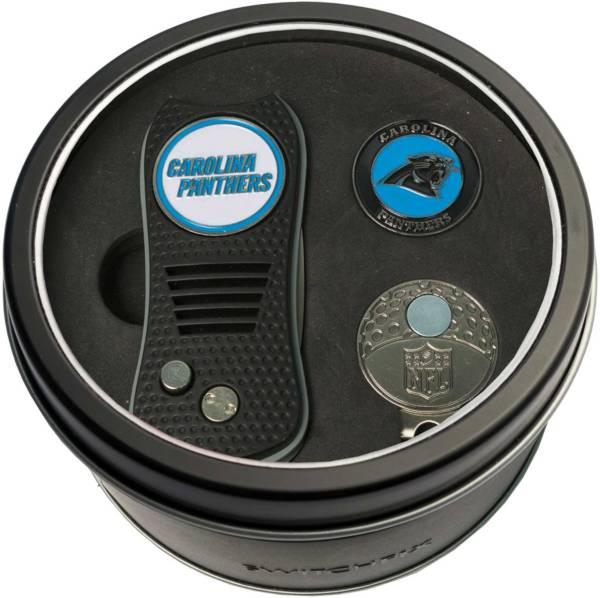 Team Golf Carolina Panthers Switchfix Divot Tool and Cap Clip Set product image