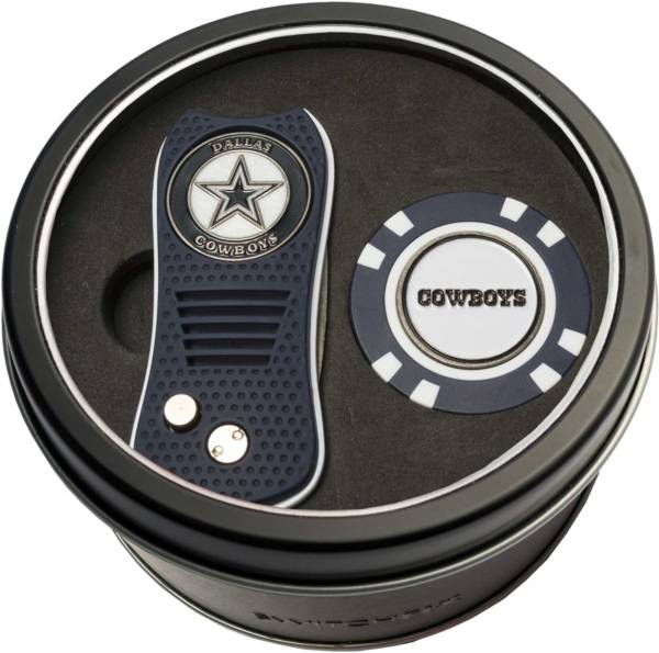 Team Golf Dallas Cowboys Switchfix Divot Tool and Poker Chip Ball Marker Set product image