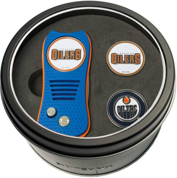 Team Golf Edmonton Oilers Switchfix Divot Tool and Ball Markers Set product image