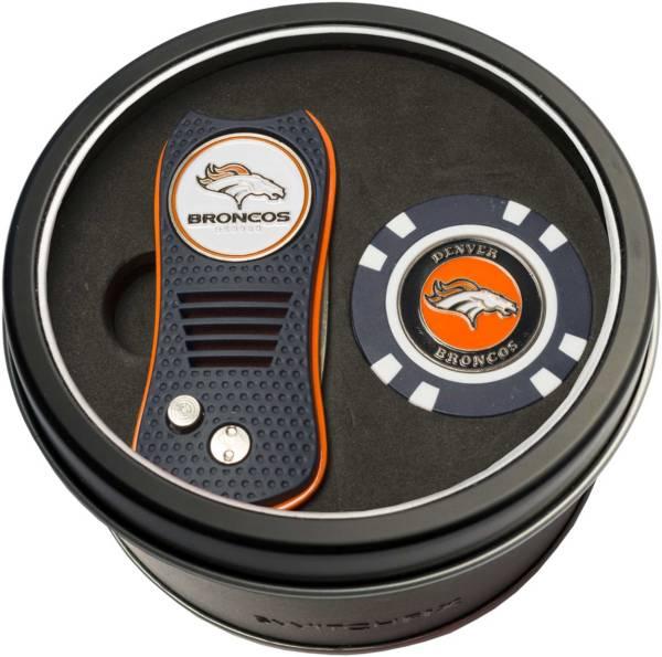 Team Golf Denver Broncos Switchfix Divot Tool and Poker Chip Ball Marker Set product image