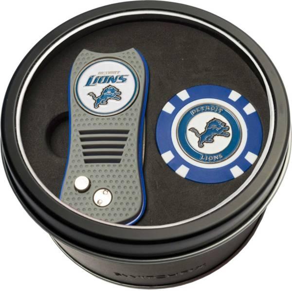 Team Golf Detroit Lions Switchfix Divot Tool and Poker Chip Ball Marker Set product image