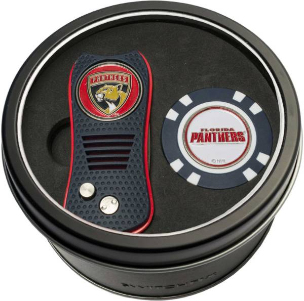 Team Golf Florida Panthers Switchfix Divot Tool and Poker Chip Ball Marker Set product image