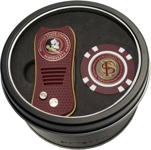 Team Golf Florida State Seminoles Switchfix Divot Tool and Poker Chip Ball Marker Set product image