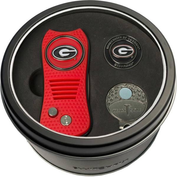 Team Golf Georgia Bulldogs Switchfix Divot Tool and Cap Clip Set product image