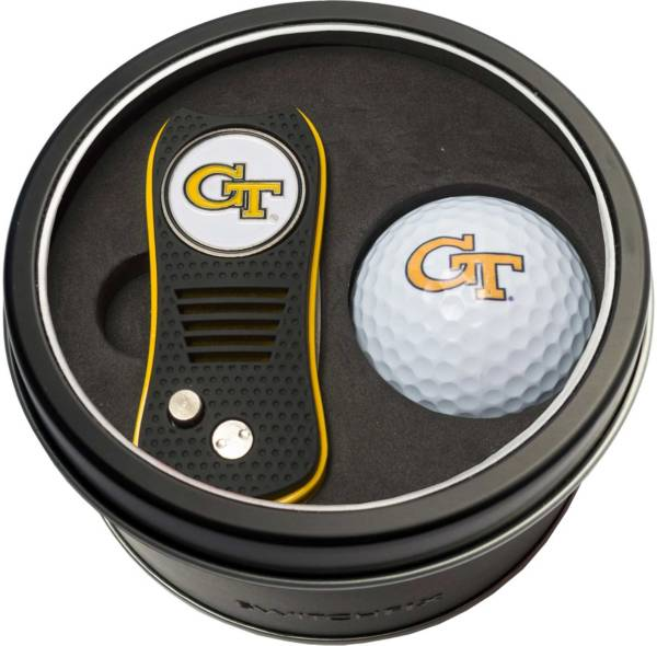 Team Golf Georgia Tech Yellow Jackets Switchfix Divot Tool and Golf Ball Set product image