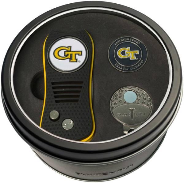 Team Golf Georgia Tech Yellow Jackets Switchfix Divot Tool and Cap Clip Set product image