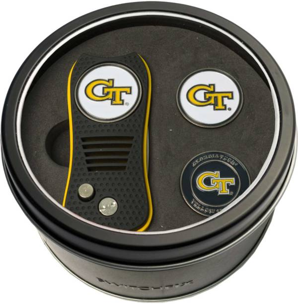 Team Golf Georgia Tech Yellow Jackets Switchfix Divot Tool and Ball Markers Set product image