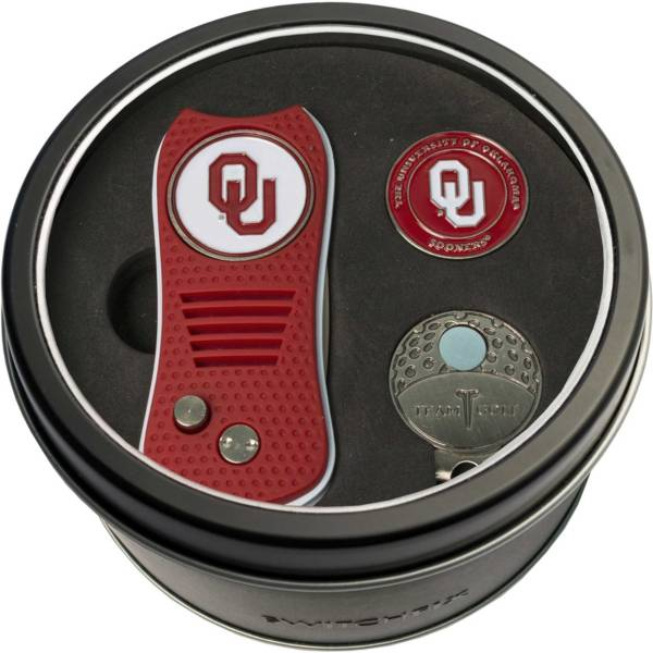 Team Golf Oklahoma Sooners Switchfix Divot Tool and Cap Clip Set product image