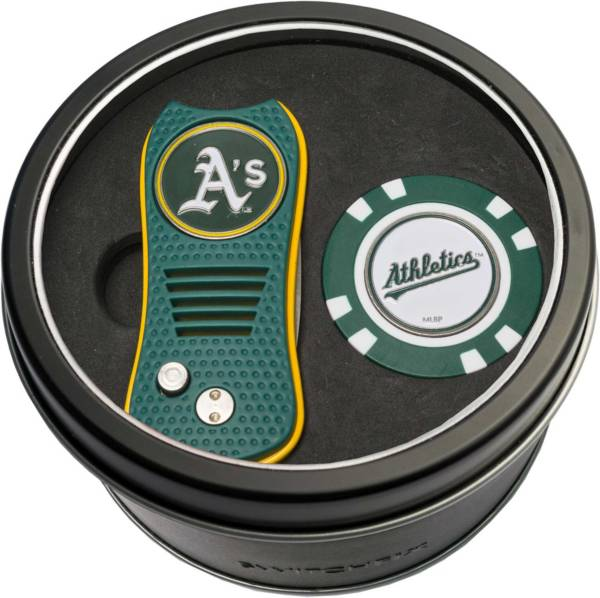 Team Golf Oakland Athletics Switchfix Divot Tool and Poker Chip Ball Marker Set product image