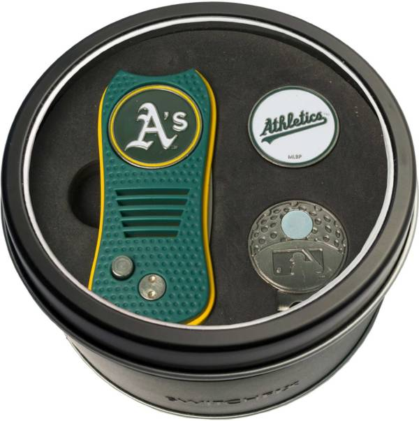 Team Golf Oakland Athletics Switchfix Divot Tool and Cap Clip Set product image