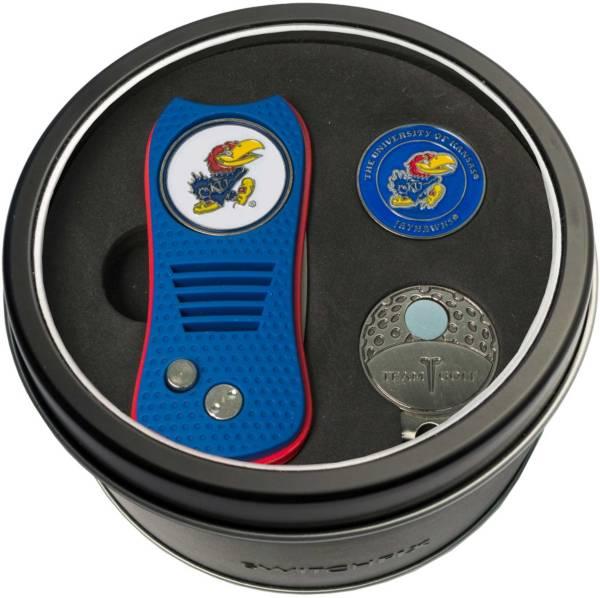 Team Golf Kansas Jayhawks Switchfix Divot Tool and Cap Clip Set product image