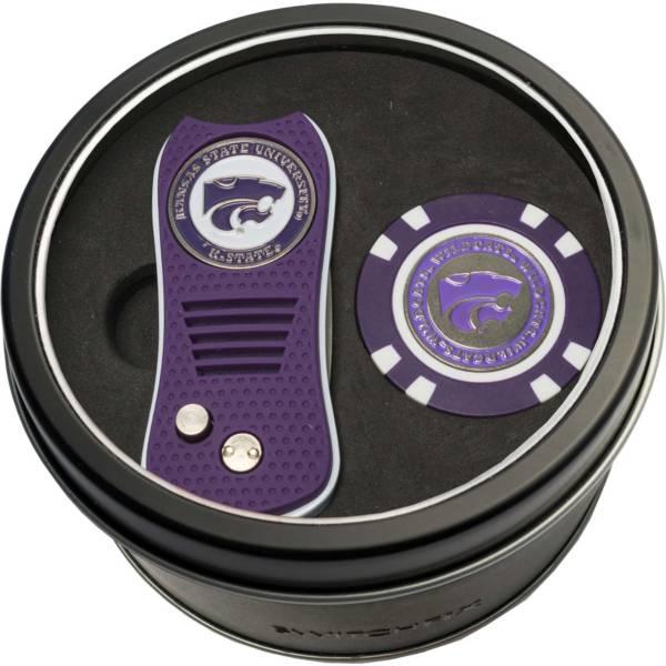 Team Golf Kansas State Wildcats Switchfix Divot Tool and Poker Chip Ball Marker Set product image