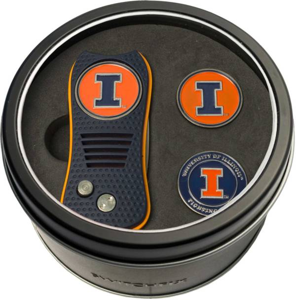 Team Golf Illinois Fighting Illini Switchfix Divot Tool and Ball Markers Set product image
