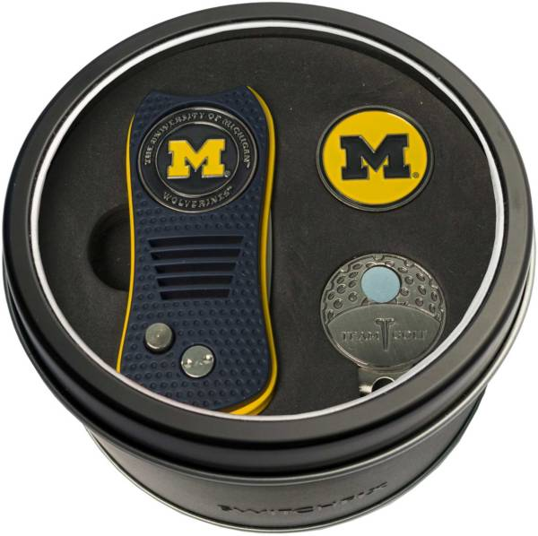 Team Golf Michigan Wolverines Switchfix Divot Tool and Cap Clip Set product image