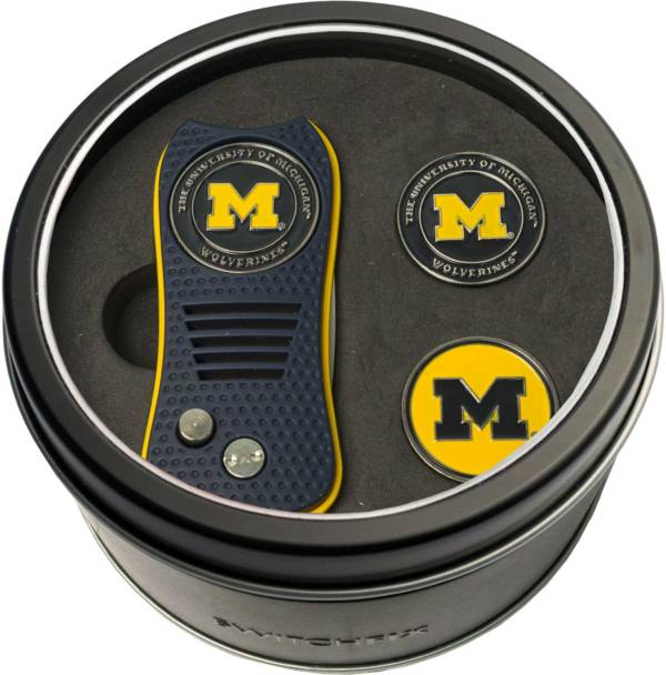 Team Golf Michigan Wolverines Switchfix Divot Tool and Ball Markers Set product image