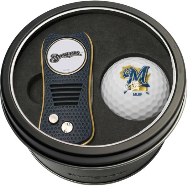 Team Golf Milwaukee Brewers Switchfix Divot Tool and Golf Ball Set product image