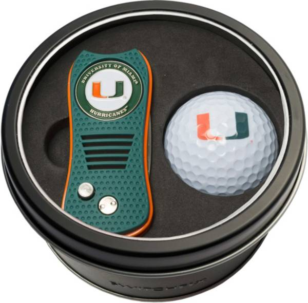 Team Golf Miami Hurricanes Switchfix Divot Tool and Golf Ball Set product image
