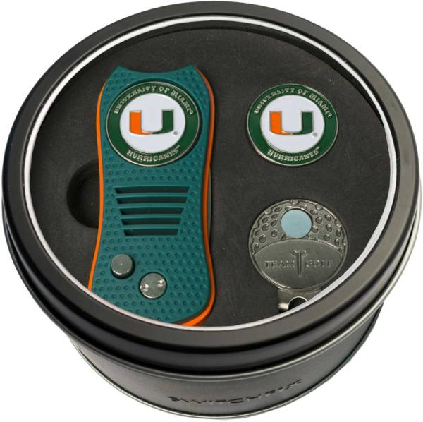 Team Golf Miami Hurricanes Switchfix Divot Tool and Cap Clip Set product image