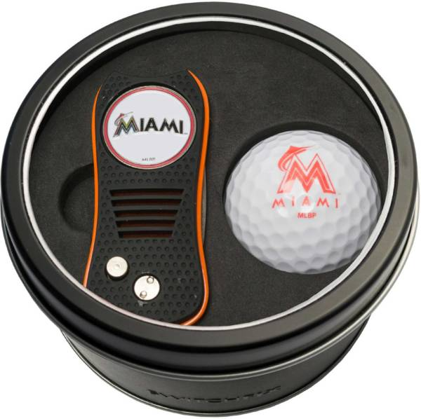 Team Golf Miami Marlins Switchfix Divot Tool and Golf Ball Set product image