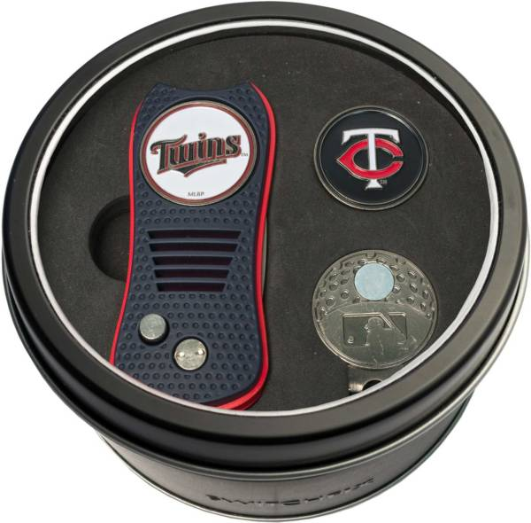 Team Golf Minnesota Twins Switchfix Divot Tool and Cap Clip Set product image