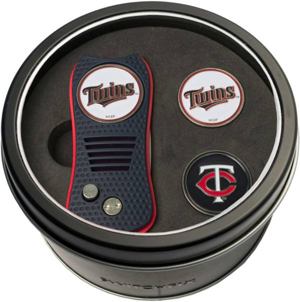 Team Golf Minnesota Twins Switchfix Divot Tool and Ball Markers Set product image