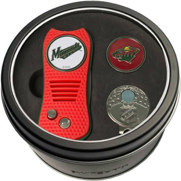 Team Golf Minnesota Wild Switchfix Divot Tool and Cap Clip Set product image