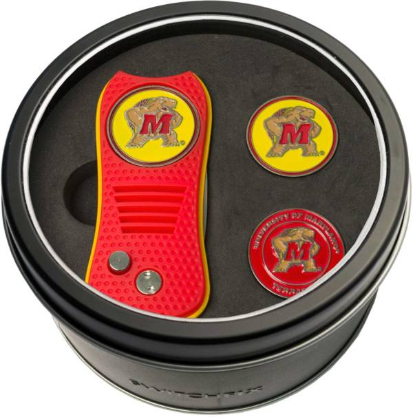 Team Golf Maryland Terrapins Switchfix Divot Tool and Ball Markers Set product image